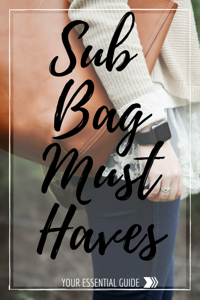 substitute bag must haves