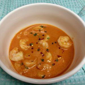 thai curry shrimp soup