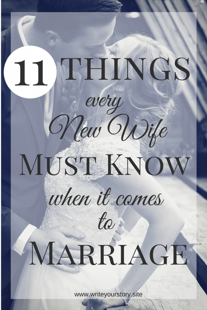 new wife tips / marriage advice