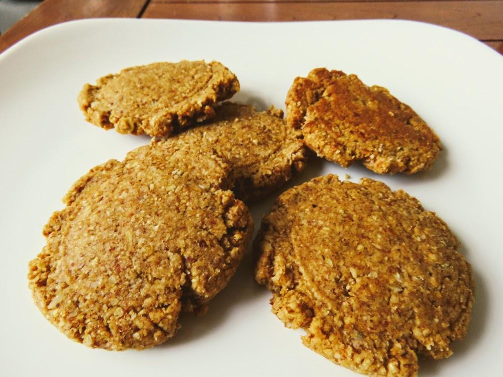 grain free healthy pumpkin cookies
