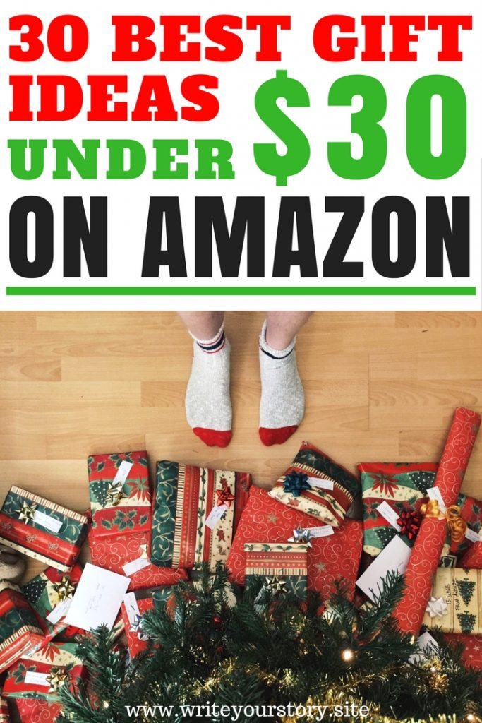 30 gifts under $30 BEST amazon gift guide for him + her #giftguide #christmasgiftguide #amazongiftguide #amazonchristmasgiftguide