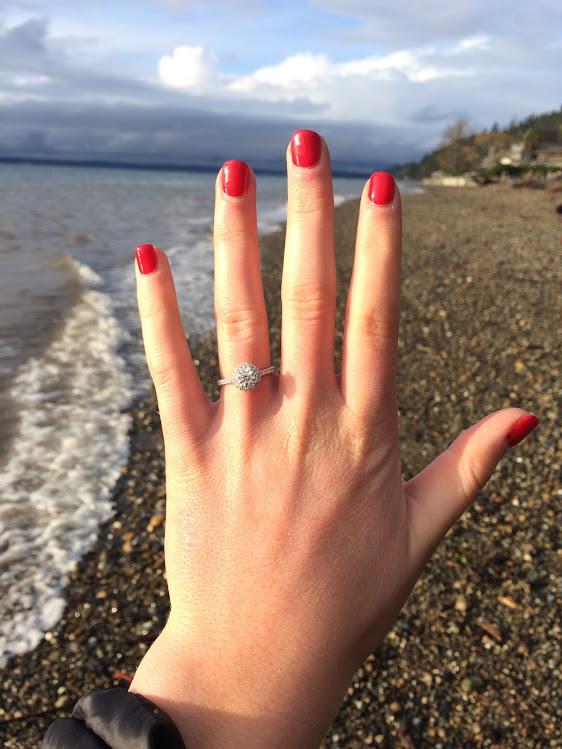 affordable engagement rings / james allen engagement ring review / affordable engagement ring review #affordableengagementring #jamesallen #cheapengagementring #engagementringonabudget