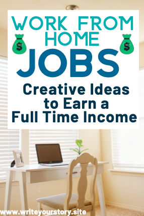 work from home jobs to earn a full time income