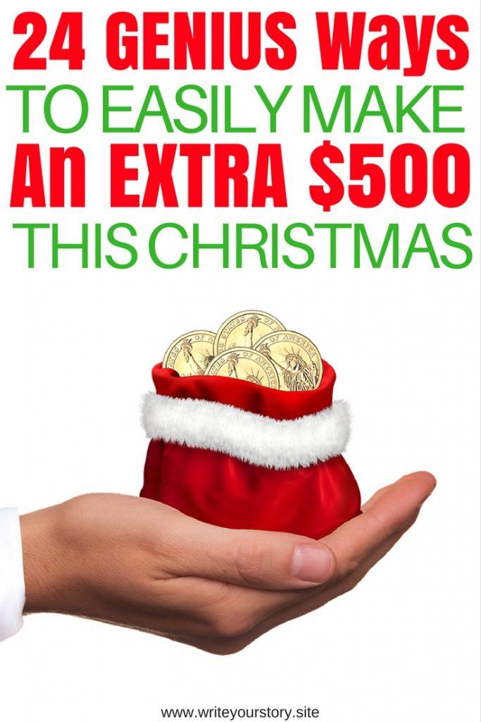 money online / extra cash for Christmas #frugalchristmas #cheapchristmas #christmasonabudget #budgetchristmas #makemoney