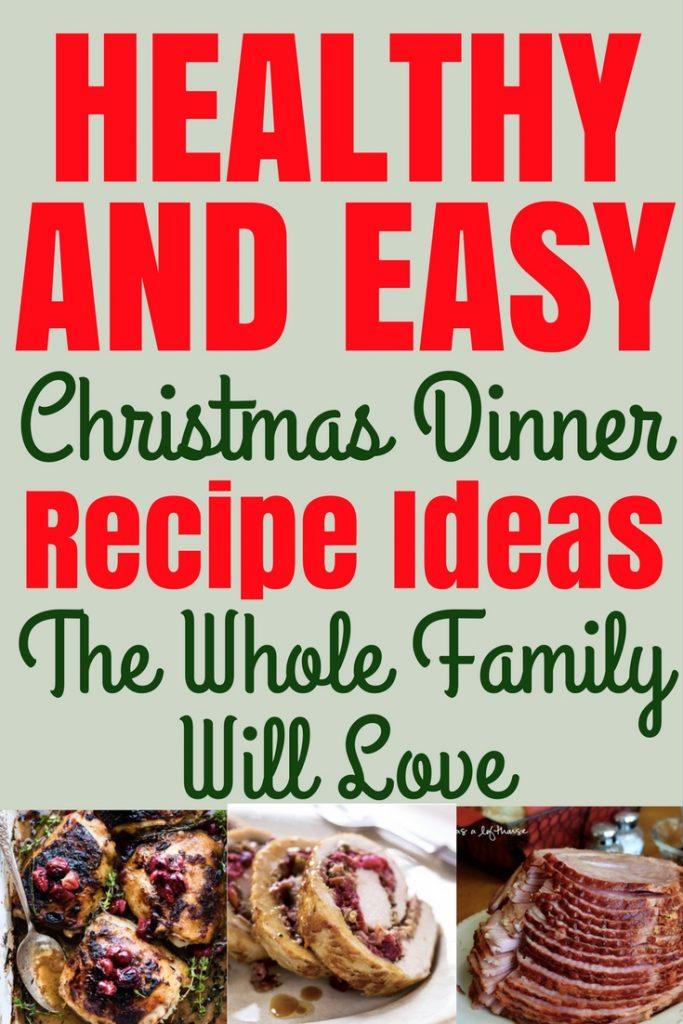 healthy simple christmas dinner recipes