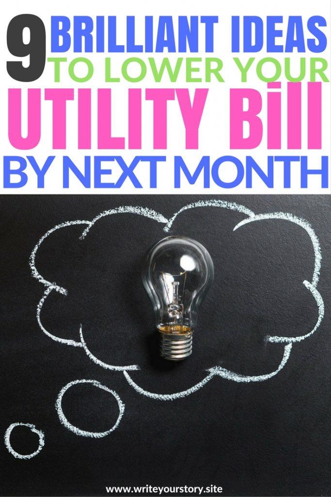 utility bill hacks