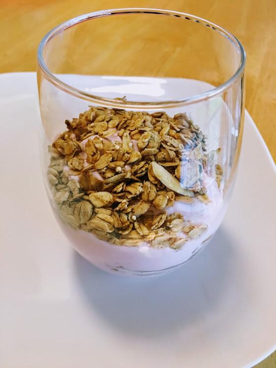 Healthy Maple Quinoa Almond Granola