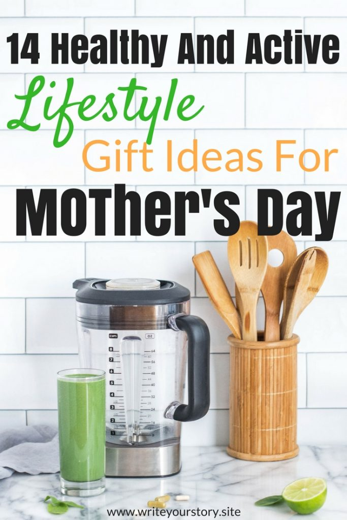 healthy and active gift ideas for mother's day
