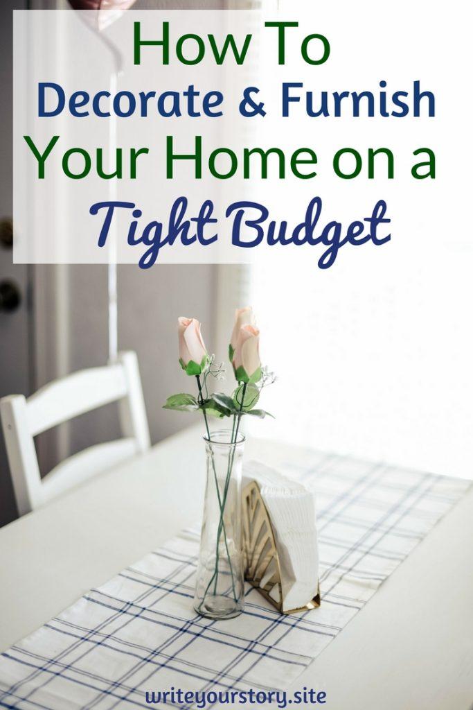 cheap home decor / cheap apartment decor / home decor on a budget #budgethomedecor #savingmoneytips #budgettips