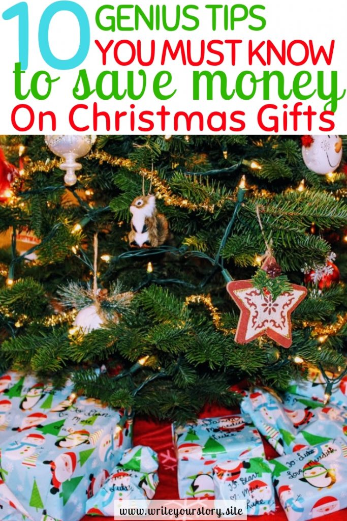 save money christmas gifts / frugal gifts