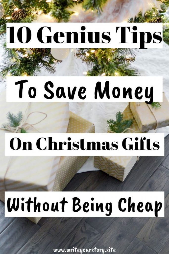 save money Christmas gifts / save money gifts