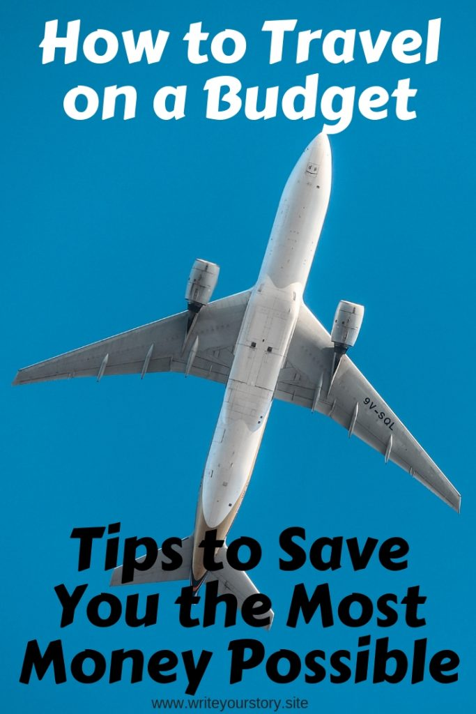 budget travel / save money on flights