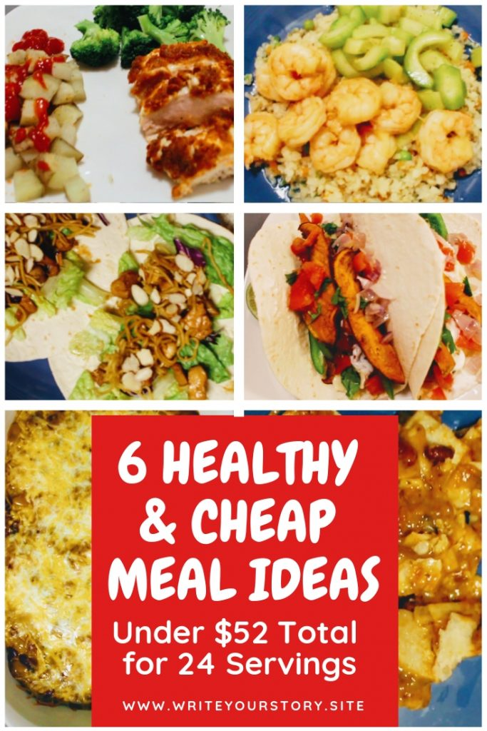 budget recipes / 6 healthy and budget recipes