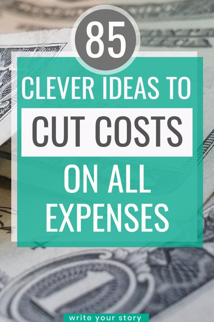 cut costs on bills / budgeting