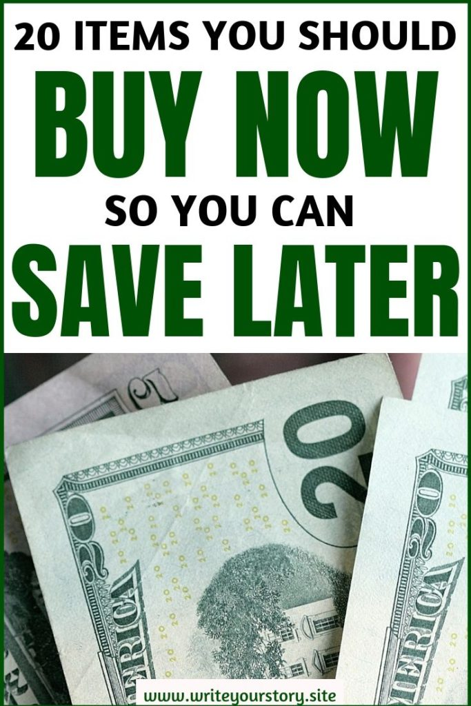 buy now or cry later / frugal ideas / saving money tips #savemoney #savingmoneytips #buynowsavelater