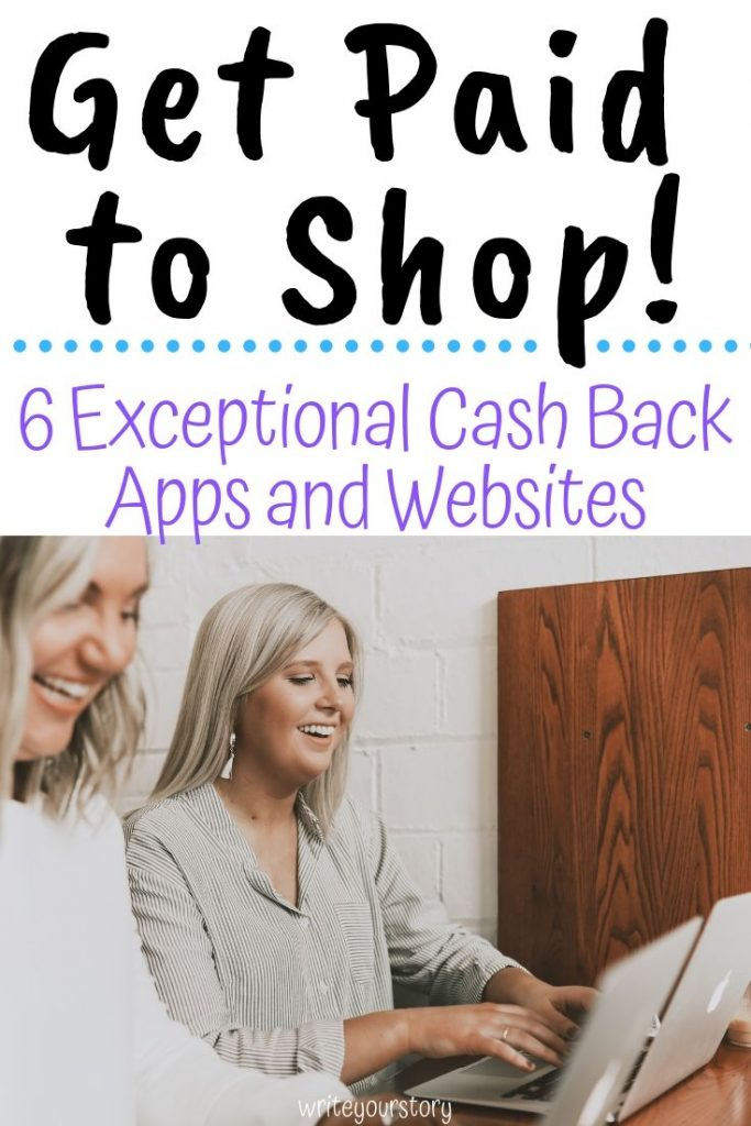 6 Cash Back Apps  / cash back offer / save money / extra cash #extracash #cashback #cashbackapps #cashbackwebsites #savingmoneytips