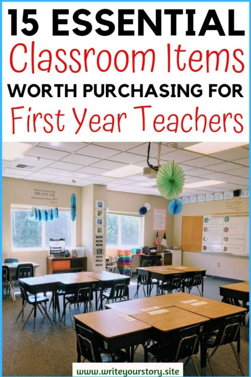 first year teacher must haves / first year teacher checklist