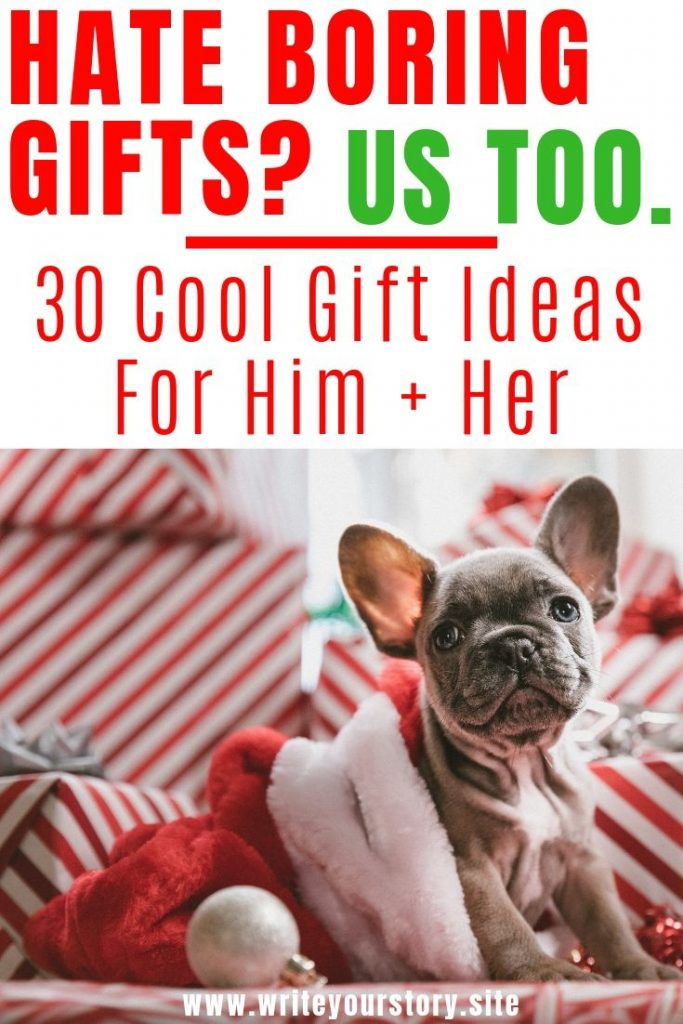 Christmas gift ideas for him / Christmas gift ideas for her