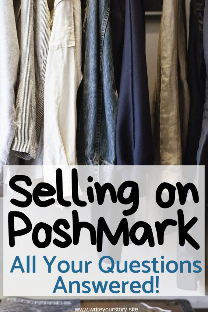 poshmark tips / selling clothes online / #poshmarktips #poshmarkapp