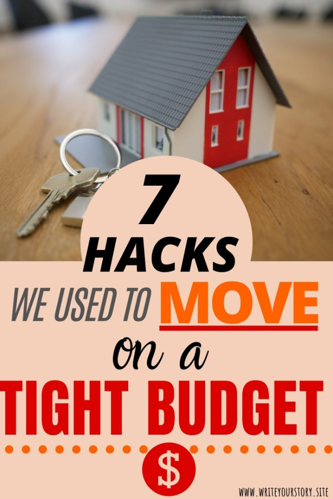 move on a tight budget