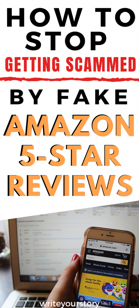 stop getting scammed by amazon 5 star reviews