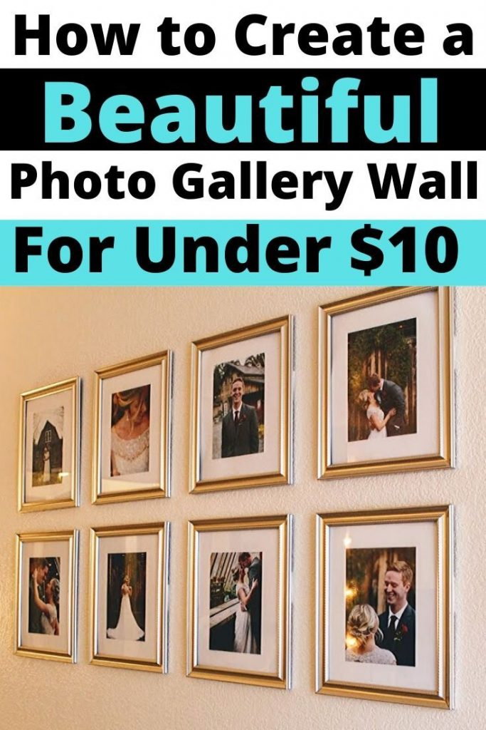 photo gallery wall under $10
