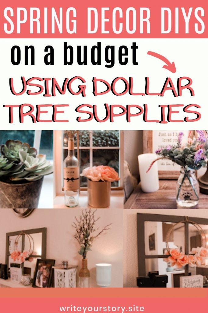 Spring DIYs Dollar Tree