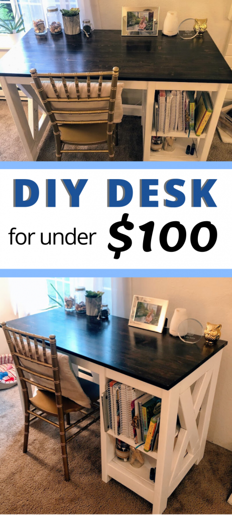 DIY desk on a budget