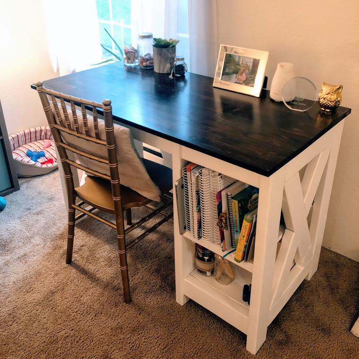 DIY desk under $100