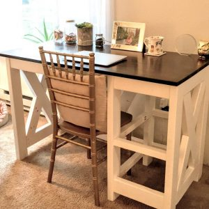 DIY desk | DIY farmhouse desk